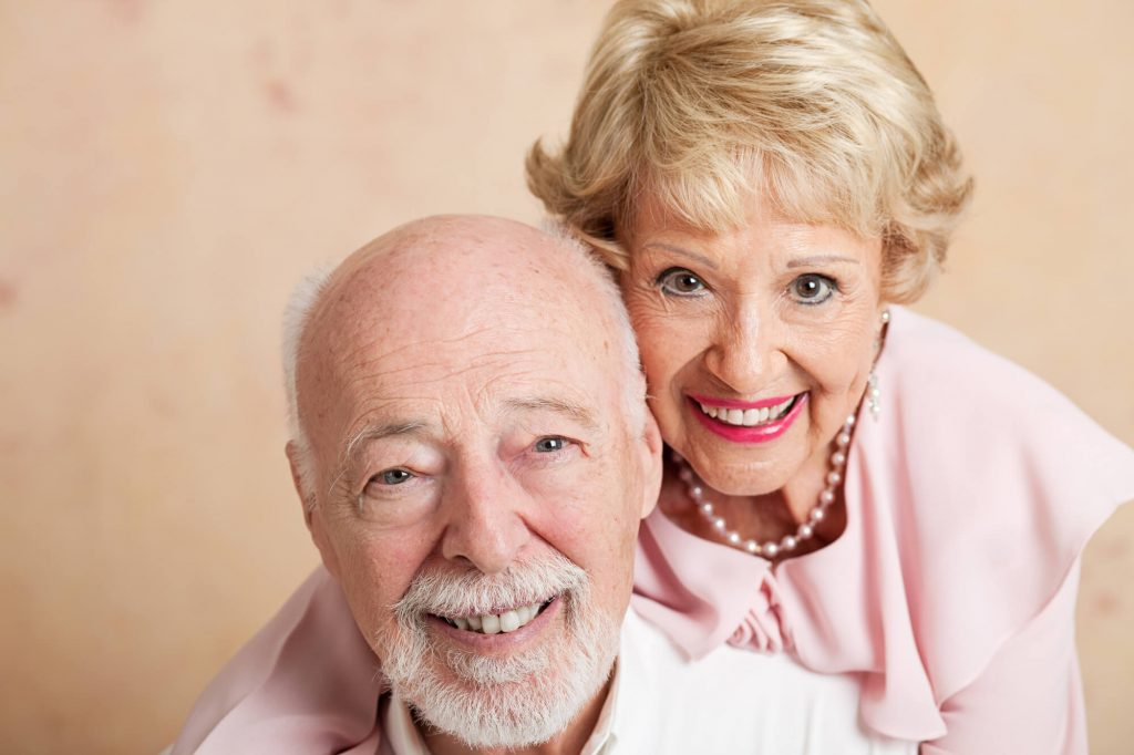 Elderly Couple Affordable Dentures Naples FL